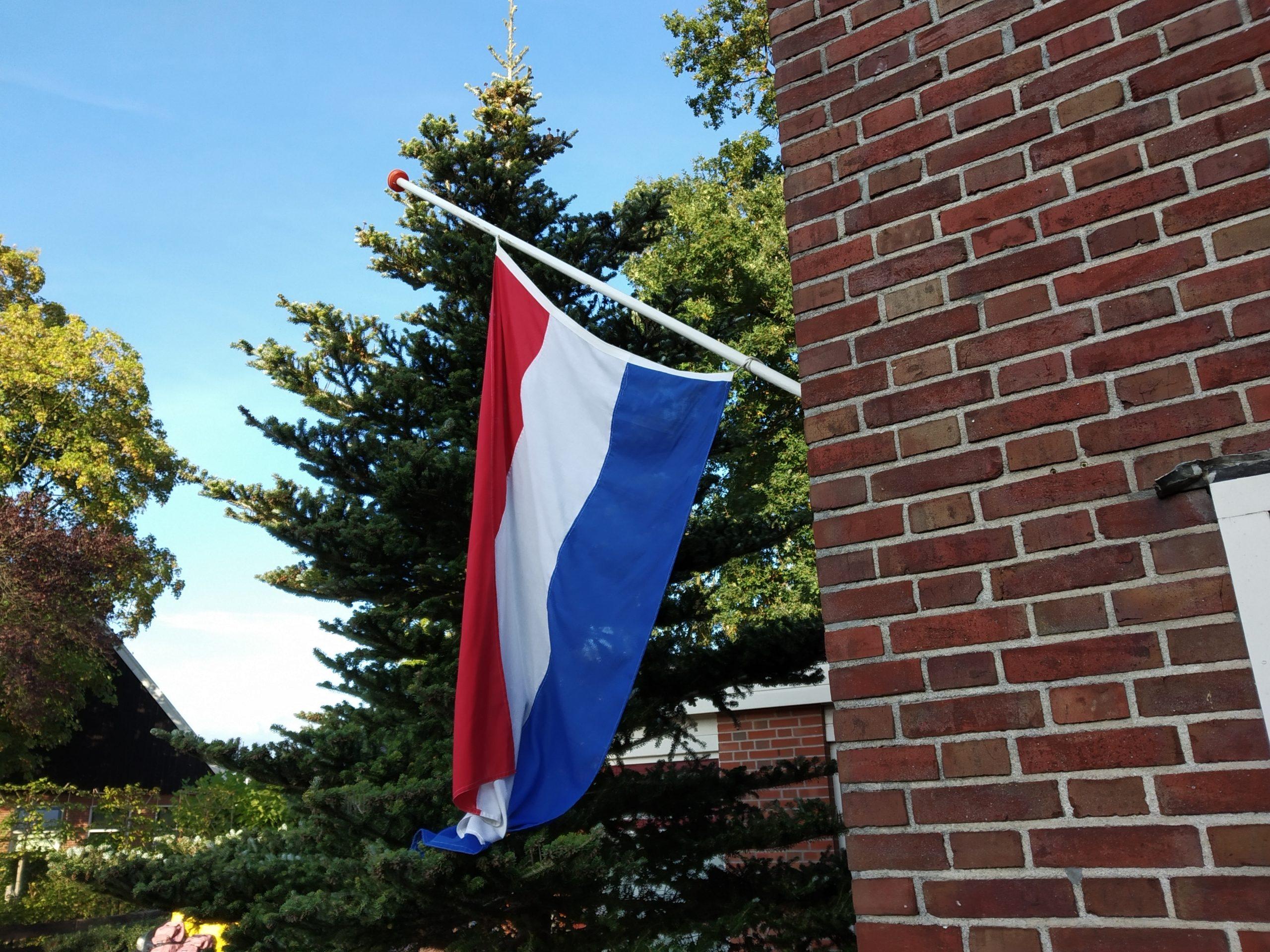 Vandaag gaat de vlag half stok, maar morgen …